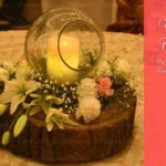Candle Light Decorative Wedding Organizer