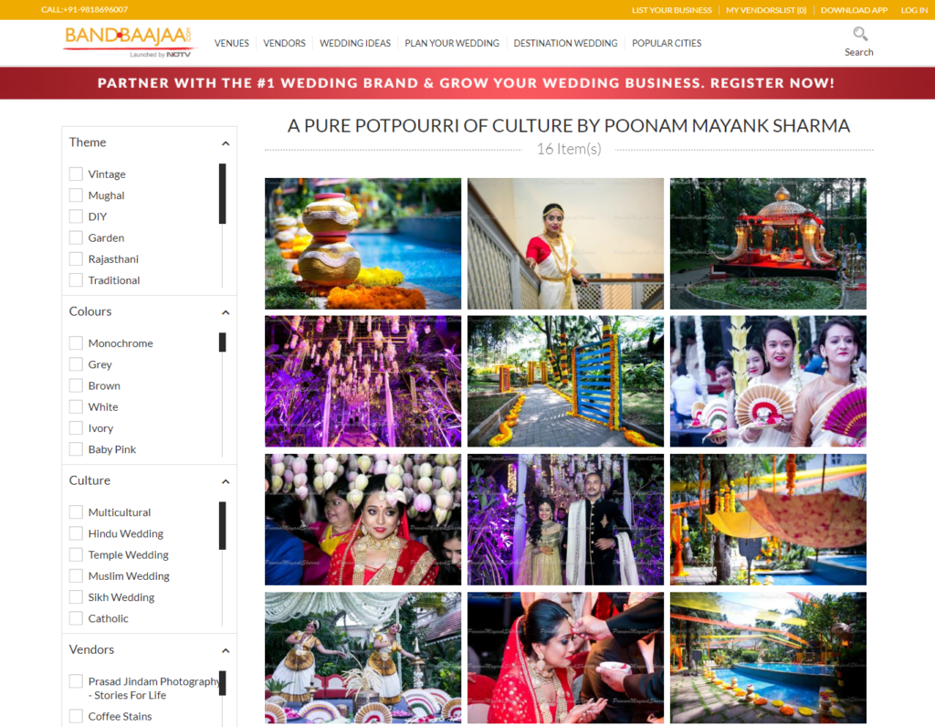 Cultural Wedding Planner in Bangalore