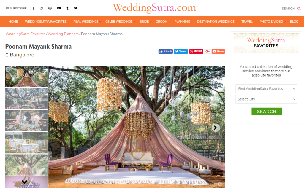 Wedding Event Planner Bangalore