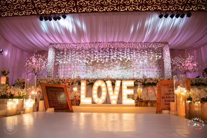 Floral Light Decorative Wedding Planner