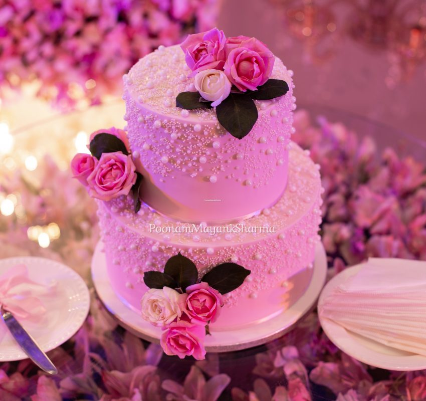 Cake and Floral Wedding Planner