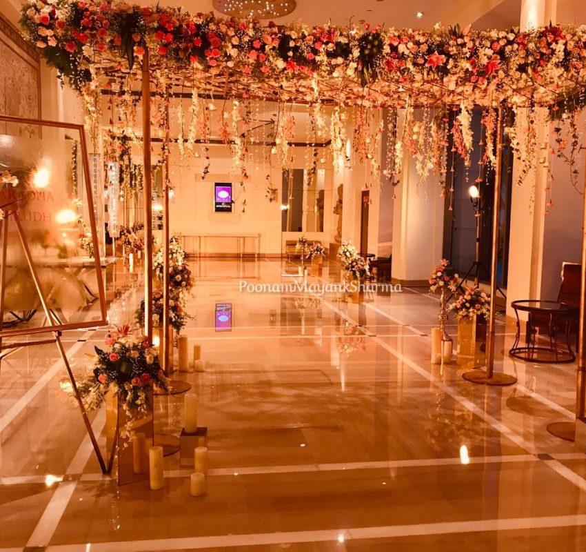 Floral Light Decorative Wedding Planner