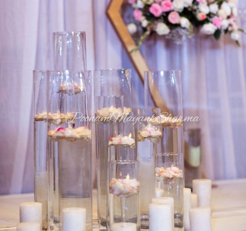 Candle Light Decorative Wedding Organizer