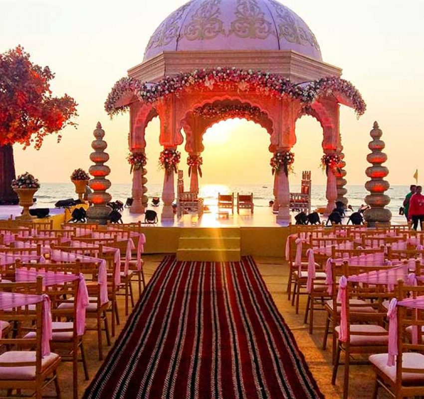 Beach View Wedding Planners in Goa